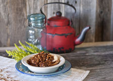 Pecan Cobbler Stock Photos