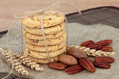 Pecan Cookies Stock Photography