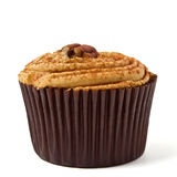 Pecan Cup Cake Royalty Free Stock Photography