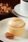 Pecan cupcake Stock Images