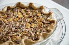 Pecan and kumquat pie Royalty Free Stock Photo