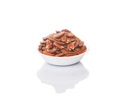 Pecan Nut In A Bowl III Stock Image