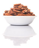 Pecan Nut In A Bowl Stock Photography