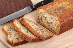 Pecan Nut Bread Royalty Free Stock Photography