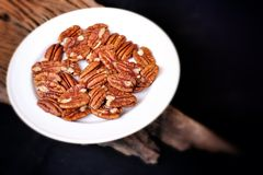 Pecan nut Royalty Free Stock Image