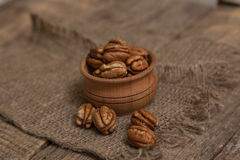 Pecan nut Royalty Free Stock Image