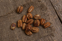 Pecan nut Stock Photos