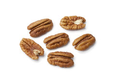 Pecan nuts Stock Photography