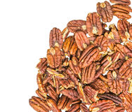 Pecan Nuts III Royalty Free Stock Photo