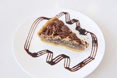 Pecan Pie Slice Royalty Free Stock Photo