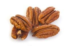 Pecan Nuts Pile Stock Photos