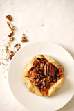 Pecan pastry Royalty Free Stock Image