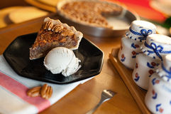 Pecan Pie Royalty Free Stock Photography