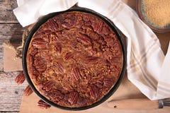 Pecan pie Stock Photography