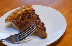 Pecan pie Royalty Free Stock Image