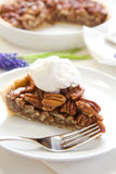Pecan Pie Slice Stock Photography