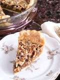 Pecan Pie Slice Royalty Free Stock Image