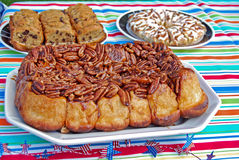 Pecan Rolls Royalty Free Stock Images