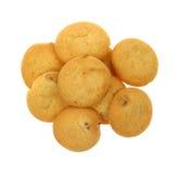 Pecan shortbread cookies Stock Photo