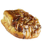 Pecan Sticky Bun Royalty Free Stock Photos