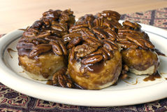 Pecan Sticky Buns Stock Images