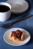 Pecan tart stock photos