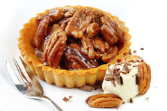 Pecan Tart Royalty Free Stock Image
