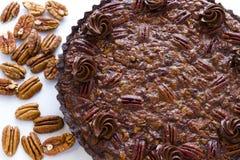 Pecan tart Royalty Free Stock Image