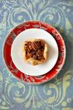 Pecan tartlet royalty free stock image