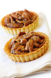 Pecan Tarts Stock Photo