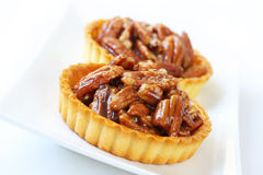 Pecan Tarts Stock Photos