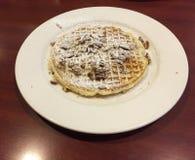 Pecan Waffle Royalty Free Stock Image