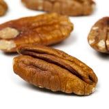 Pecannötter Royaltyfri Bild