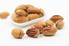 Pecans, Nut, Walnuts Royalty Free Stock Image