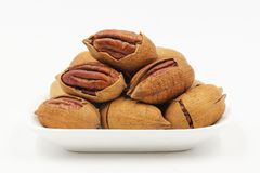 Pecans, Nut, Walnuts Royalty Free Stock Photography