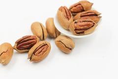 Pecans, Nut, Walnuts Stock Image