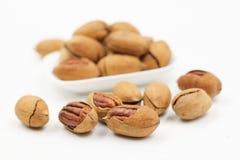 Pecans, Nut, Walnuts Stock Photos