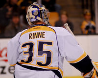 Pecca Rinne, Nashville Predators Royalty Free Stock Images
