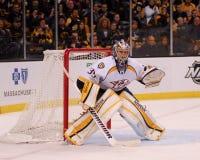 Pecca Rinne, Nashville Predators. Nashville Predators goalie Pecca Rinne Stock Photo