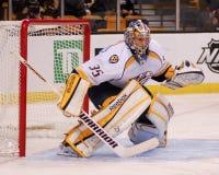 Pecca Rinne, Nashville Predators. Nashville Predators goalie Pecca Rinne Royalty Free Stock Images