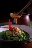 Pecel Rice Stock Photo