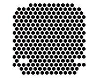 PECET skrzynki wentylaci grille Obrazy Stock