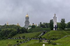 pechersk de lavra de Kiev Image stock