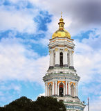 Pechersk Lavra belltower Royalty Free Stock Image