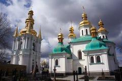 Pechersk Lavra cemetary Kiev Stock Image