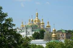 pechersk lavra kiev стоковые изображения rf