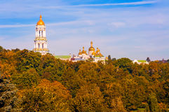 Pechersk Lavra Tower Bell Royalty Free Stock Image