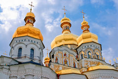 pechersk Ukraine de monastère de lavra de Kiev images stock