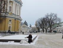 Pecherska Lavra στοκ εικόνα