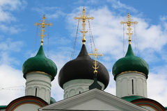 Pechersky Ascension Monastery, Nizhniy Novgorod Royalty Free Stock Images